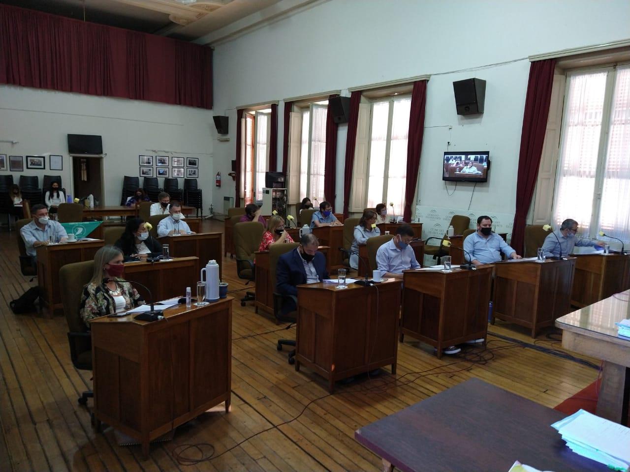 Concejo Deliberante: Sesión Especial con tratamiento de Ordenanza Fiscal e Impositiva