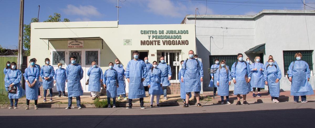 En una sola jornada del Detectar que el municipio se negó a hacer los voluntarios detectaron 11 casos sospechosos y realizaron 9 hisopados