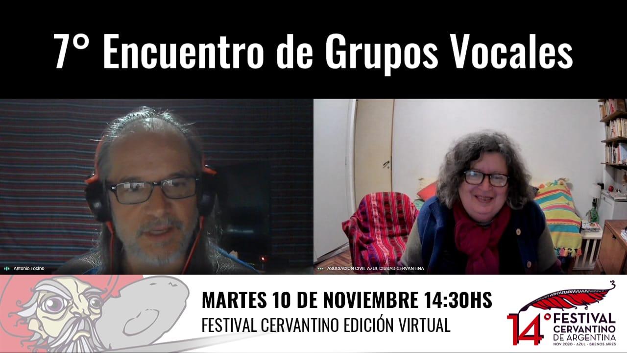 Reprogramado para esta tarde el VII Encuentro de Grupos Vocales