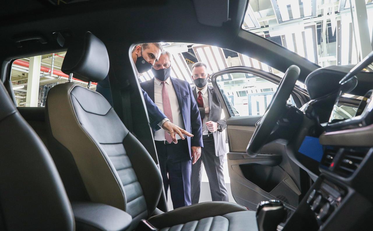 """El Presidente en Volkswagen: """"Hagamos que la unidad sirva para hacernos crecer"""""""