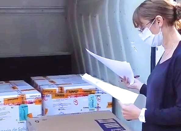 Azul se quedó sin vacunas