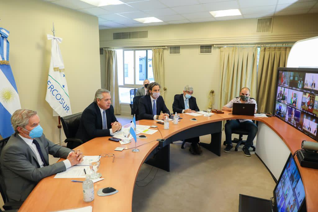 """Alberto Fernández pidió """"más y mejor Mercosur con una recuperación económica sostenible e inclusiva"""""""