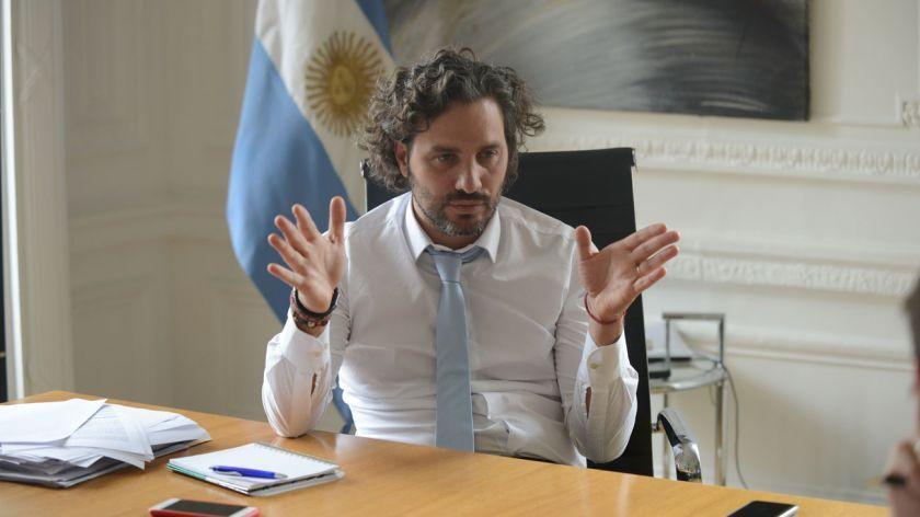 """Santiago Cafiero: """"Este mes llegará el primer envío de la vacuna rusa"""""""