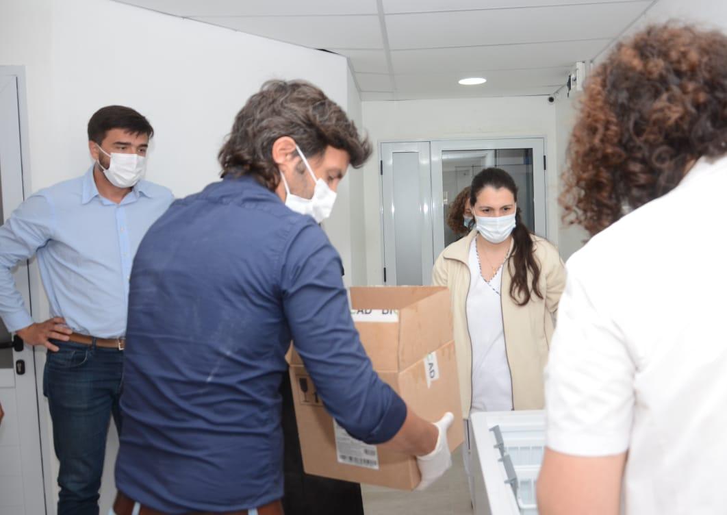 La Provincia refuerza la seguridad y custodia en la distribución de vacunas