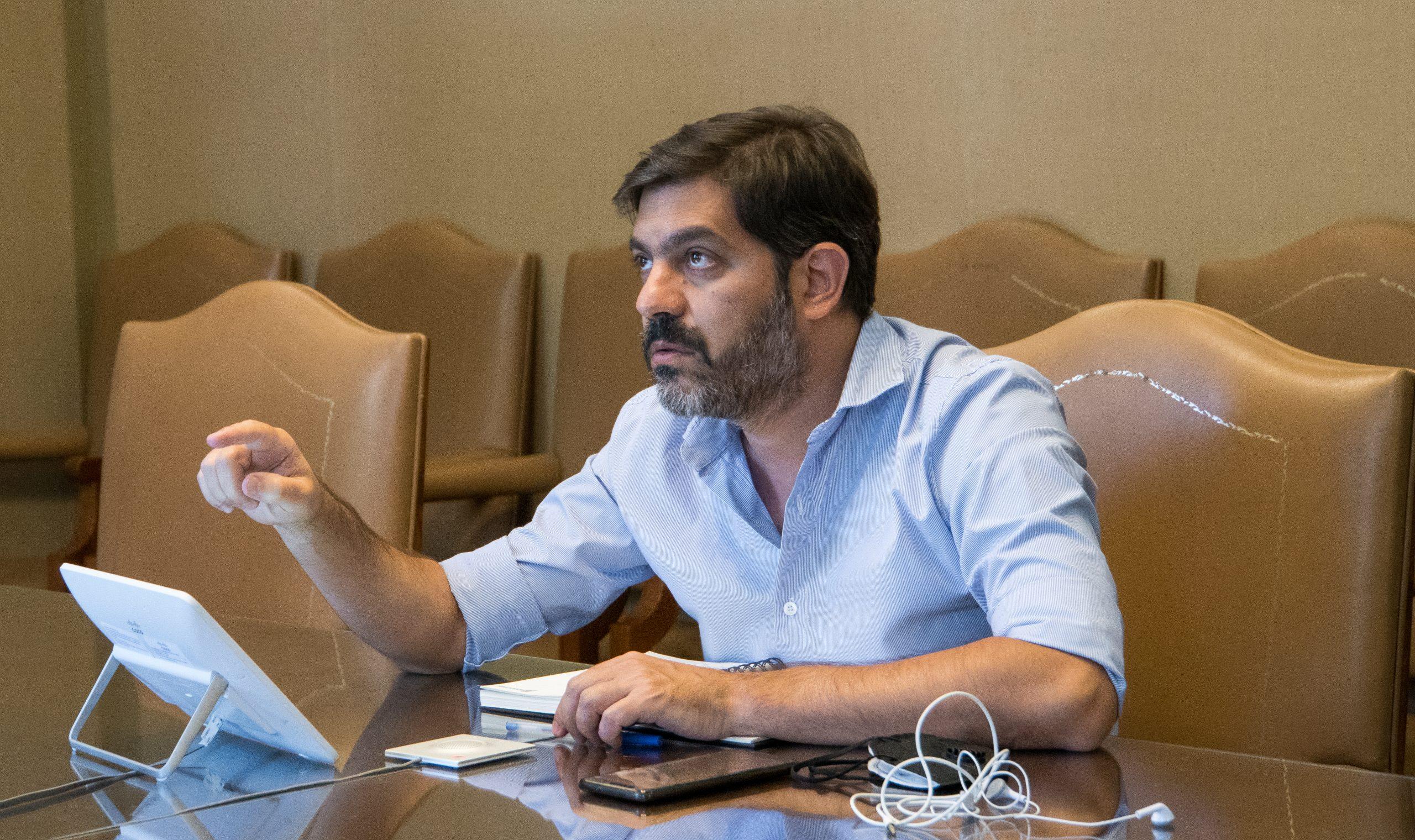 Bianco se reunió con ministros e intendentes para avanzar en la coordinación del proceso de vacunación