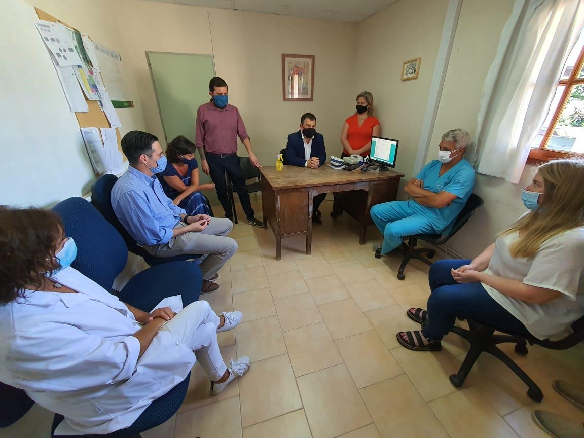 Médicos del Hospital Pintos expresaron su preocupación por la falta de vacunación contra el coronavirus