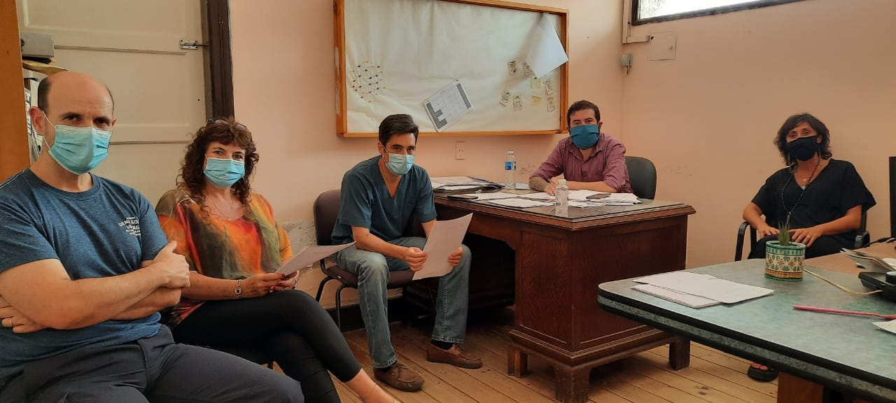 Tras la aparición del mosquito del Dengue se reunieron Zoonosis Rurales y salud del municipio