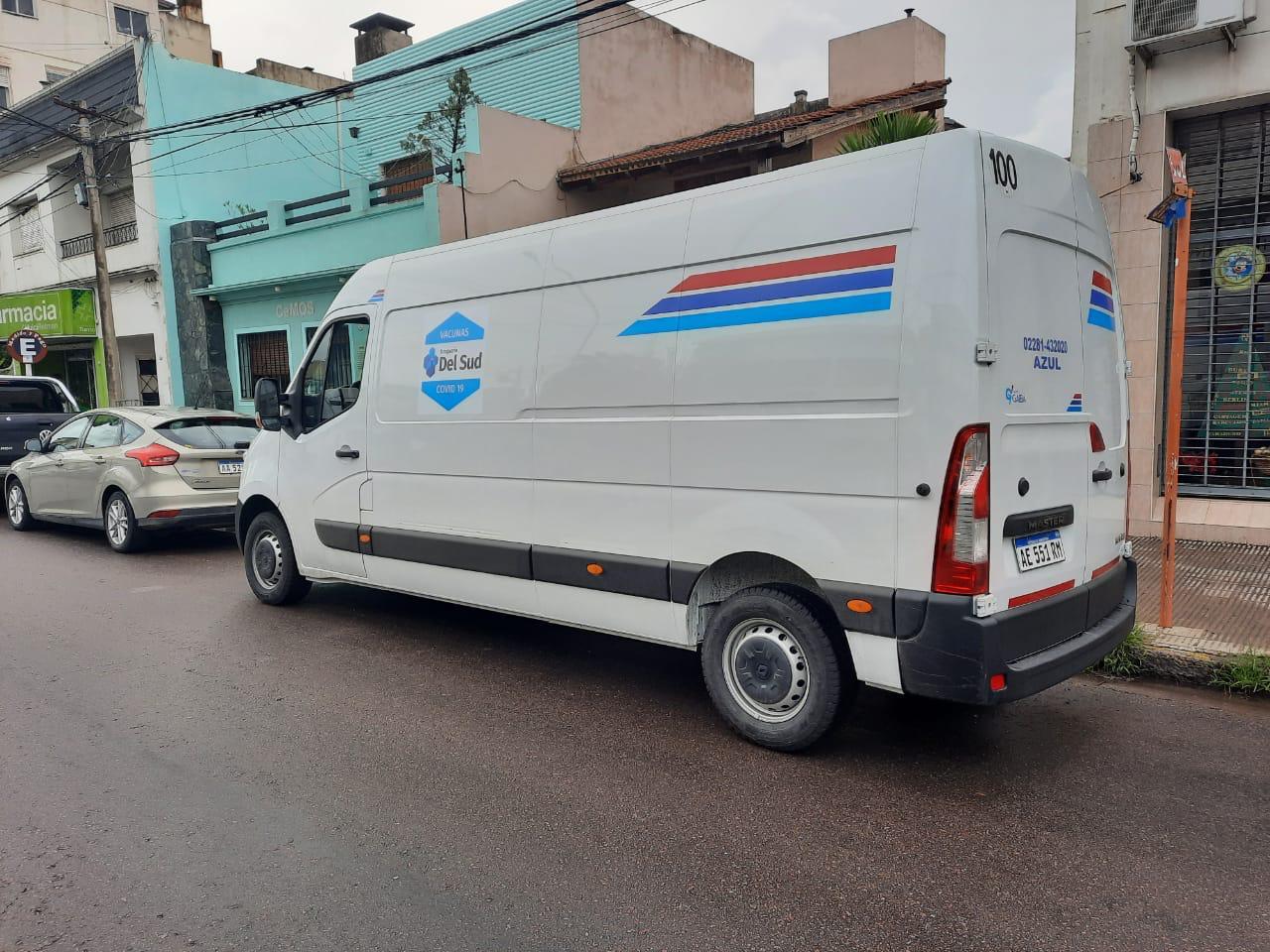 Transportes Gaiba S.A., distribuirá la vacuna rusa en la provincia de Río Negro