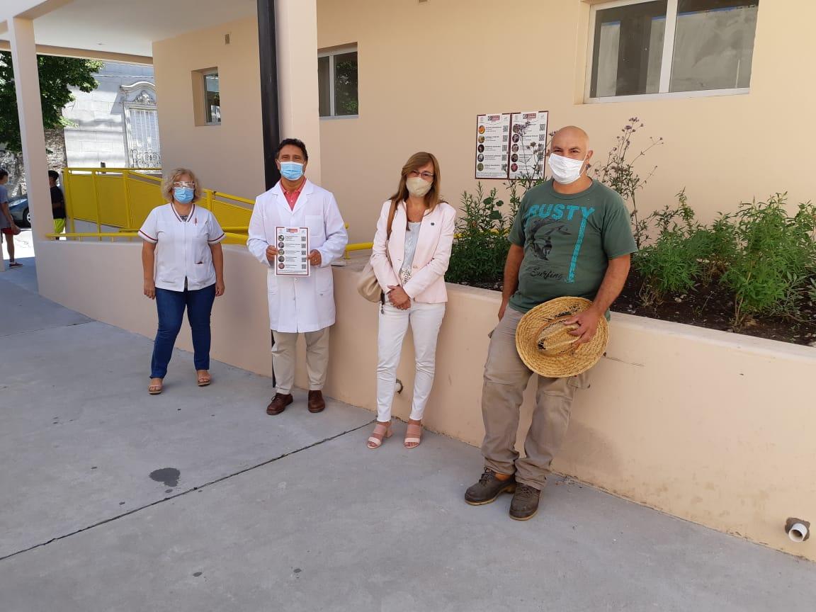 Plantas nativas de la región: una interacción con el Hospital de Niños de Azul