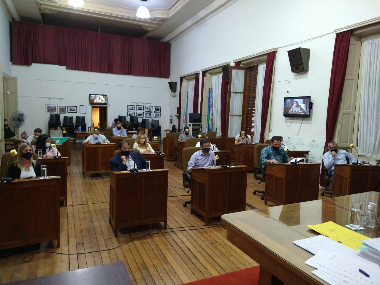 Esta tarde sesionó el Concejo