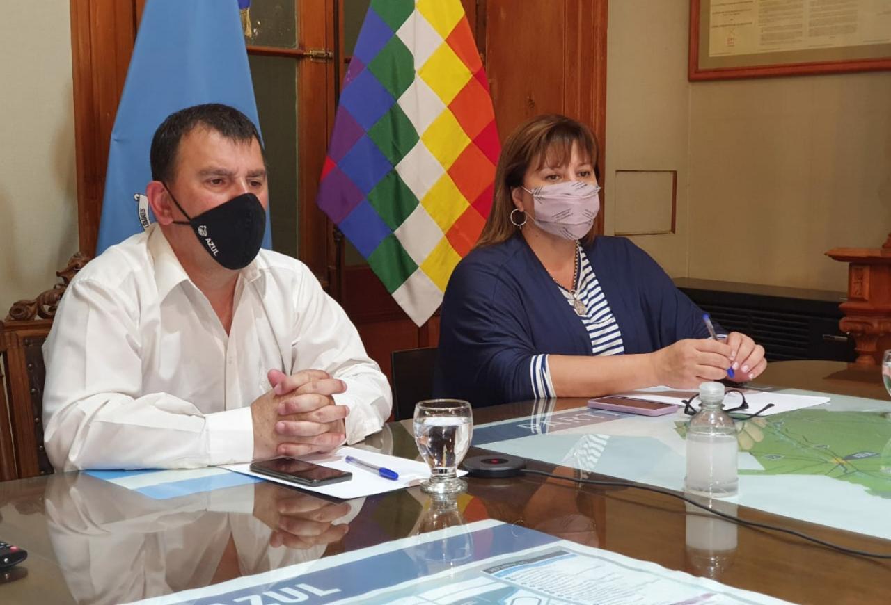 "Lucrecia Egger: ""El gobierno de Kicillof le da la espalda a Azul en la obra pública"""