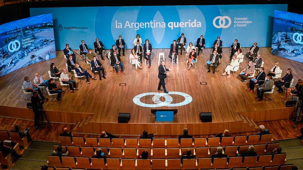 El Gobierno lanzó el Consejo Económico y Social