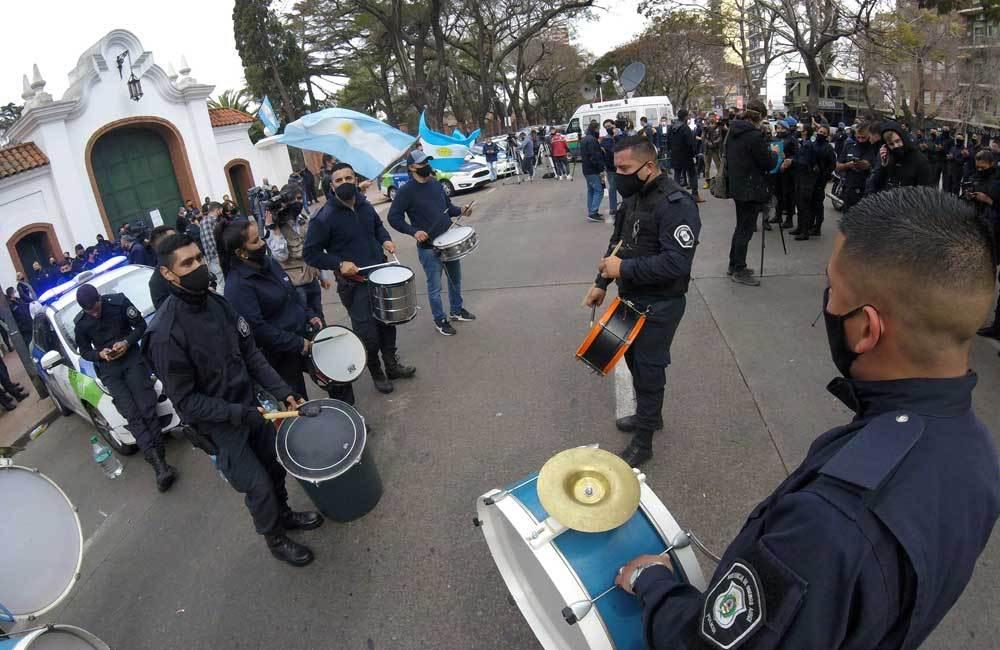Crece el malestar en La Bonaerense y los policías anuncian una nueva protesta