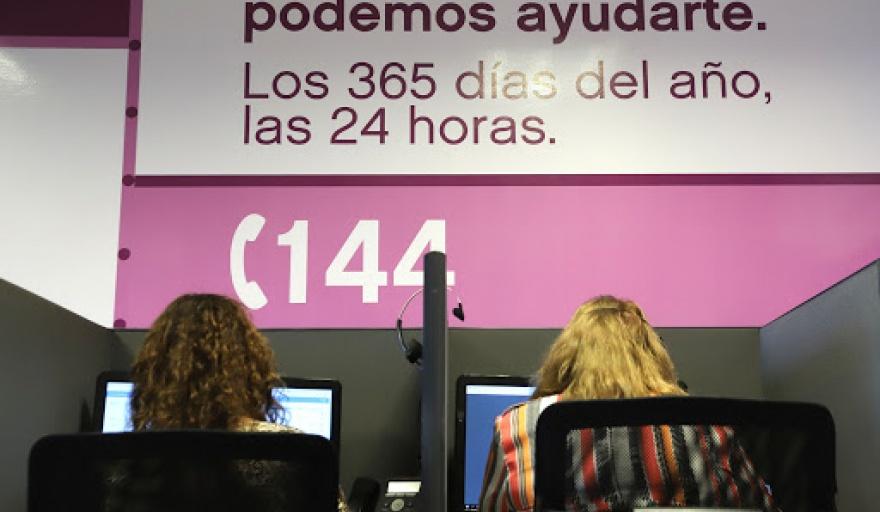 Aumentaron un 21,4% las denuncias por violencia de género a la línea 144