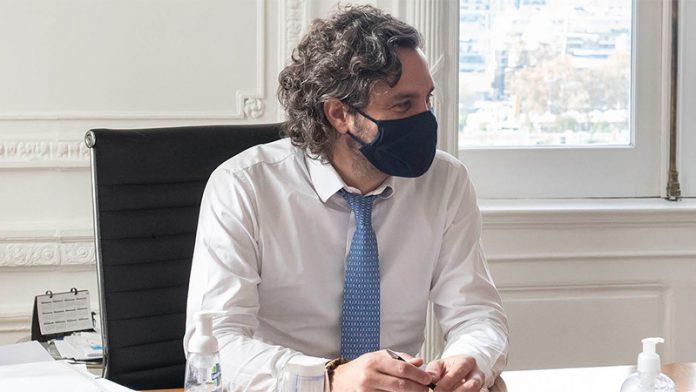 Cafiero convocó a la Ciudad y a la Provincia para analizar la situación epidemiológica