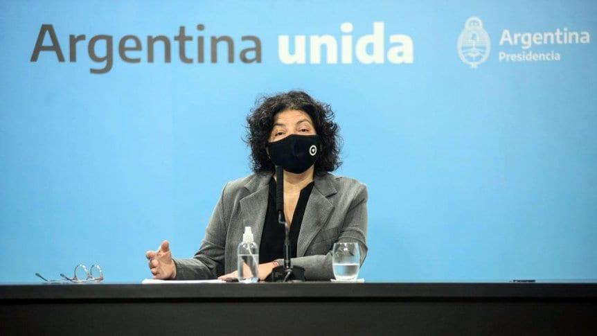 Vizzotti analizó la situación junto a CABA y provincia de Buenos Aires