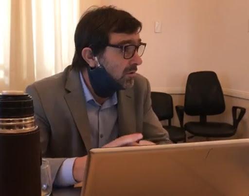 """Gonzalo Peluso: """"Hay que redoblar los esfuerzos y respetar los cuidados"""""""