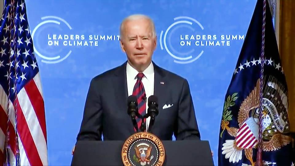 En la inauguración de la Cumbre Virtual sobre el Clima Biden se compromete a reducir a la mitad las emisiones de carbono de EE.UU. respecto a los niveles de 2005