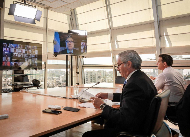 """Canciller Solá: """"con el Mercosur debemos tener la certeza de construir algo más grande que nosotros"""""""