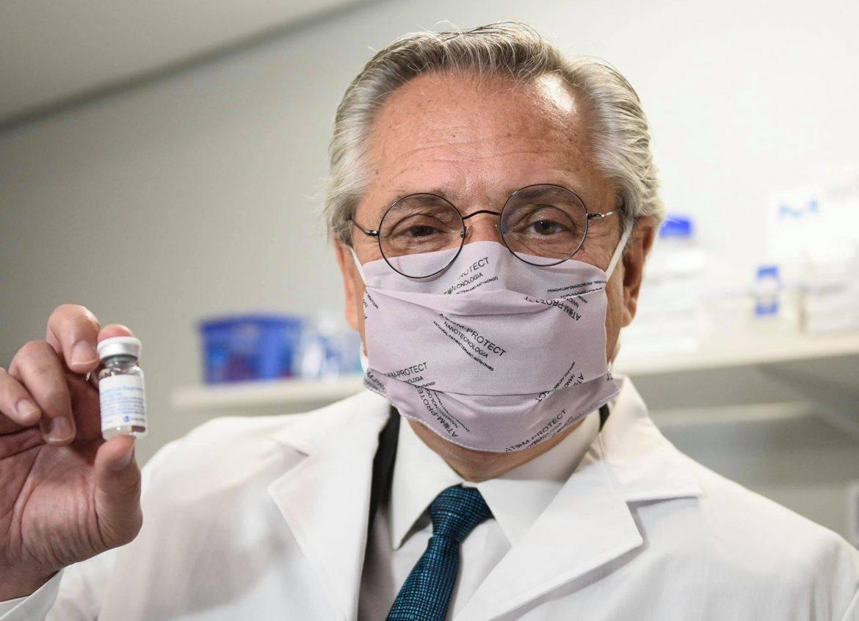 Alberto Fernández dio positivo de coronavirus