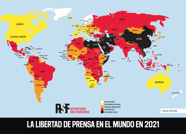 Periodismo, una vacuna contra la desinformación vetada en más de 130 países