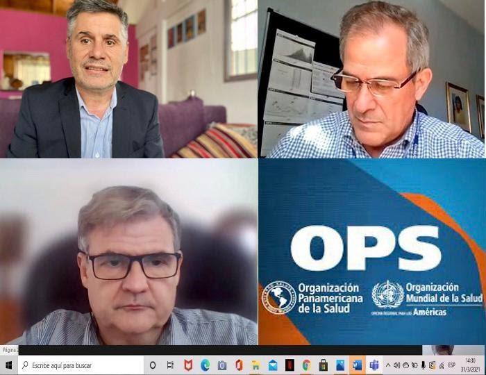La Defensoría del Pueblo bonaerense articula acciones con la OMS/OPS para la promoción y defensa del derecho a la salud