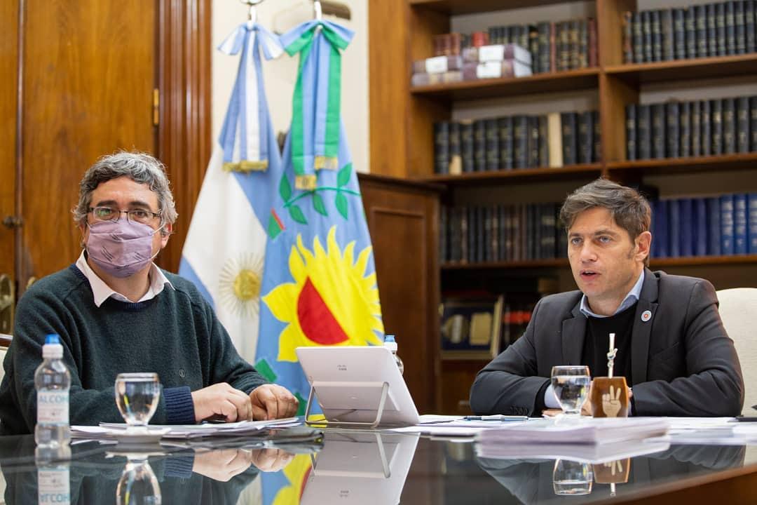 El Gobernador Axel Kicillof firmo el inicio de obra de la Circunvalación Sur y anunció la pavimentación de 35 cuadras