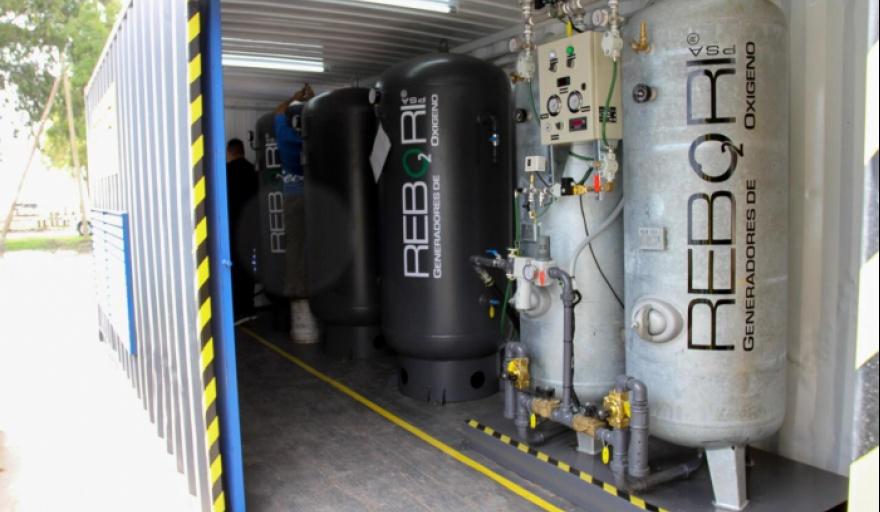 En territorio bonaerense se implementó un plan para fortalecer la provisión de oxígeno