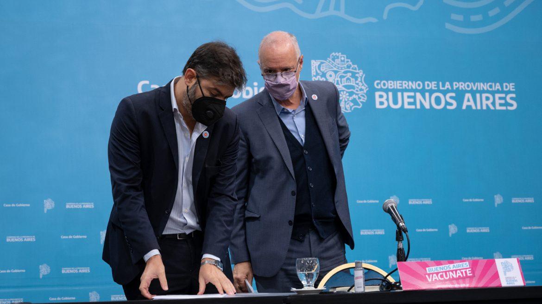 Carlos Bianco y Daniel Gollan reiteraron la importancia de adoptar las medidas de cuidado