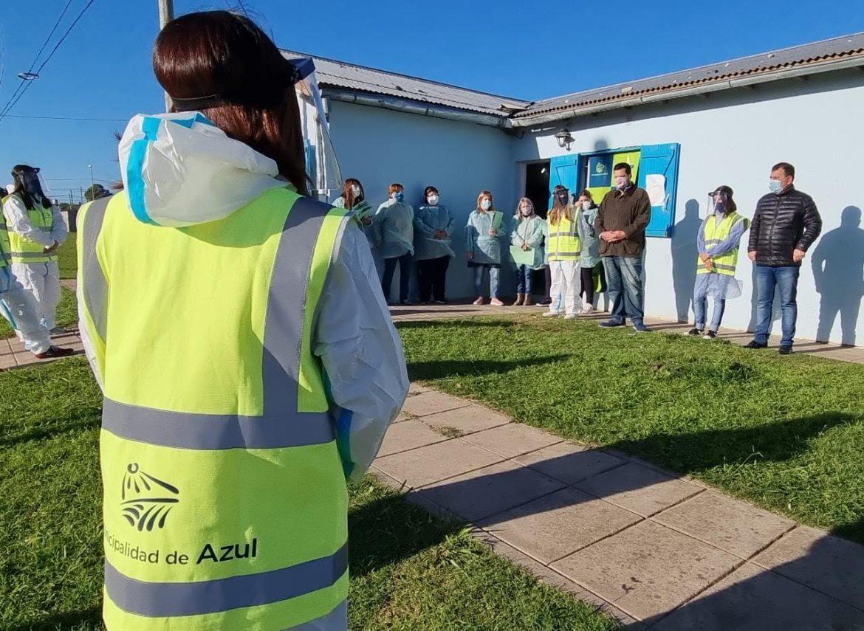 Operativo de abordaje territorial en los barrios Alfonsina Storni y Solidaridad