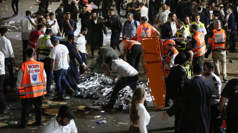 Murio un argentino durante una avalancha en un acto religioso en Israel