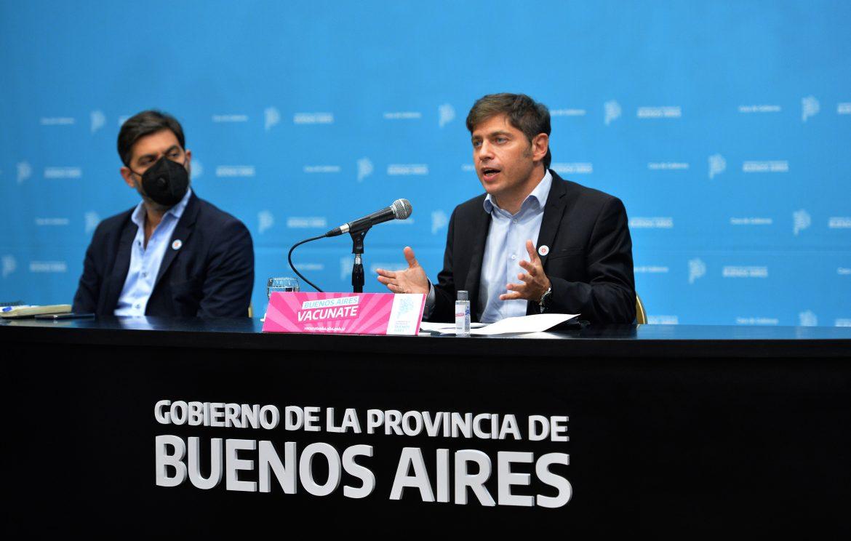 """Kicillof: """"Vamos a fortalecer la inversión social y productiva para acompañar a los sectores más perjudicados por la pandemia"""""""