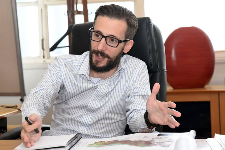 "Agustín Simone: ""No hacemos obra pública con sentido electoral"""