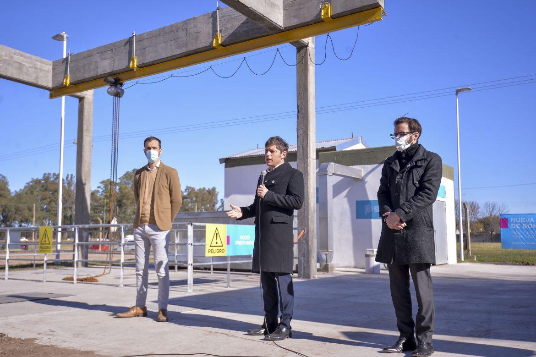 Se puso en marcha la nueva estación central de bombeo cloacal de Junín