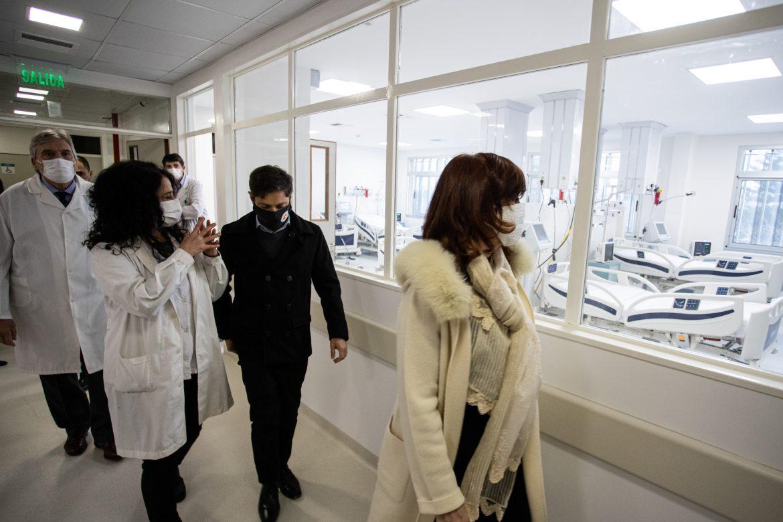 Se inauguró el nuevo edificio del Hospital de Niños Sor María Ludovica