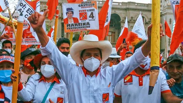 Terminó el escrutinio en Perú y ganó Castillo