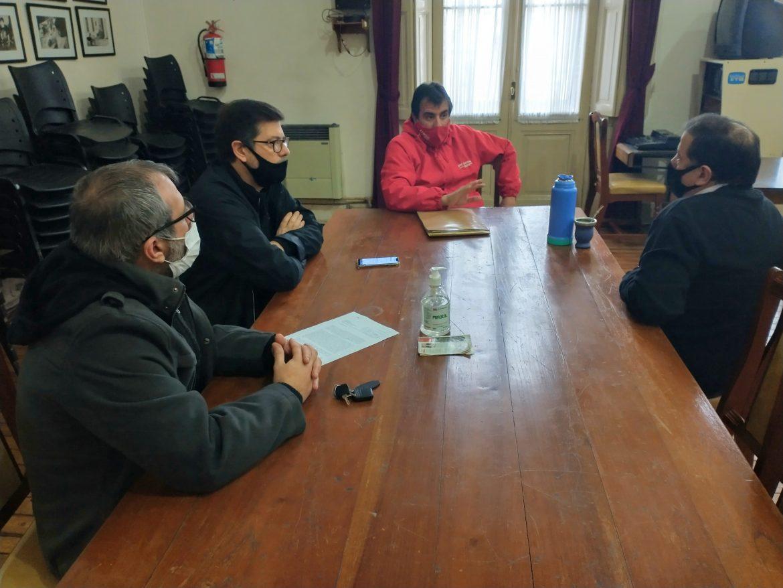 Concejo Deliberante: reunión con el Presidente de la comisión del barrio Güemes