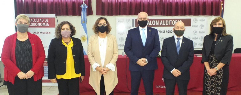 Asumieron las nuevas autoridades de la Facultad de Agronomía UNCPBA