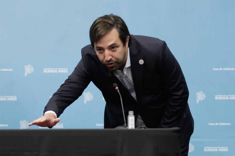 Nicolás Kreplak juró como nuevo ministro de Salud de la Provincia