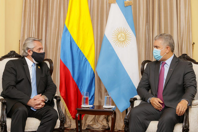 El Presidente se reunió en Lima con su par de Colombia, Iván Duque Márquez