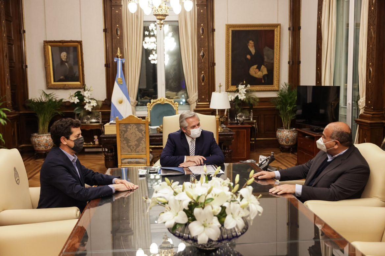 El Presidente recibió al gobernador de Tucumán