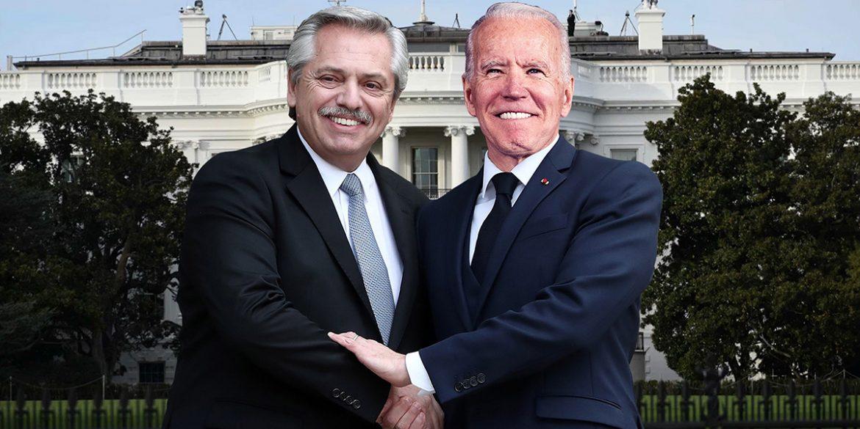 """El Presidente de los Estados Unidos agradeció a Alberto Fernández su contribución frente a la crisis climática y le pidió """"continuar trabajando juntos"""""""