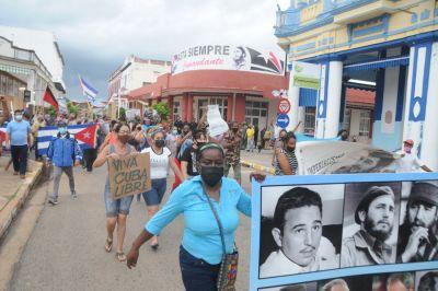 Contra la injerencia y la manipulación: solidaridad con el pueblo cubano y su Revolución
