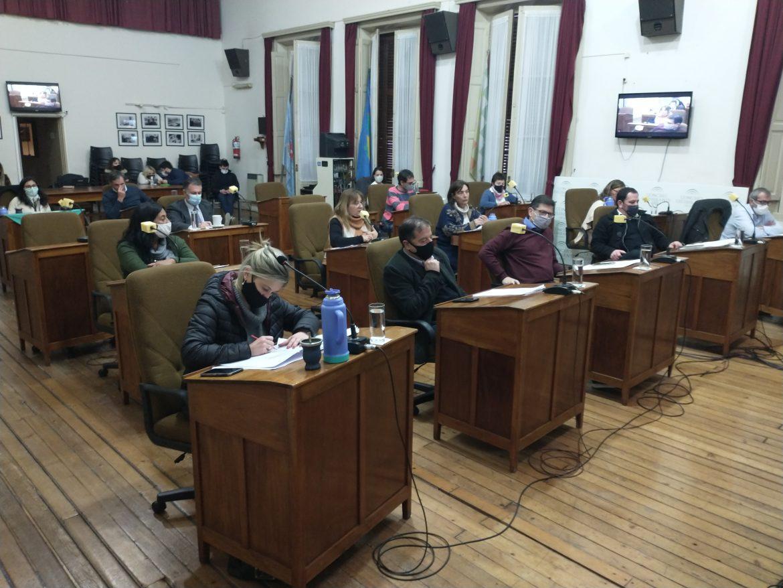 Se realizó la décimo primera sesión ordinaria del Concejo Deliberante