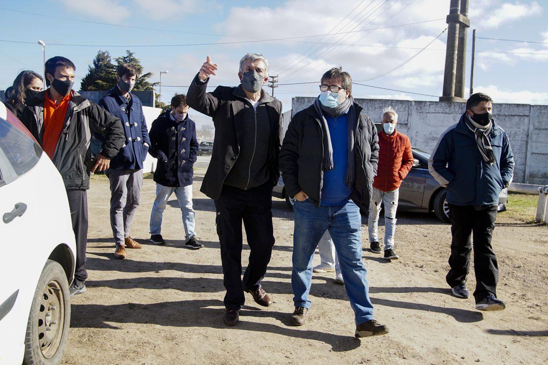 Dar el Paso: Villa Fidelidad: Reunión con vecinos y visita a instituciones