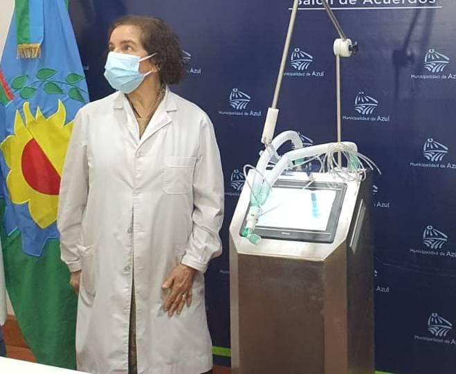 Nuevo respirador para el Hospital Pintos