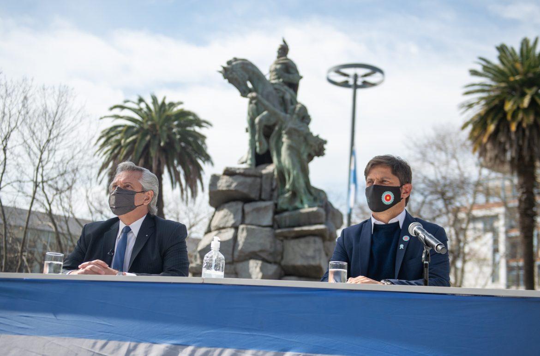 """En el homenaje a 171 años de su muerte, el Presidente dijo que San Martín """"es un ejemplo de entrega y de dedicación"""" que debemos seguir"""