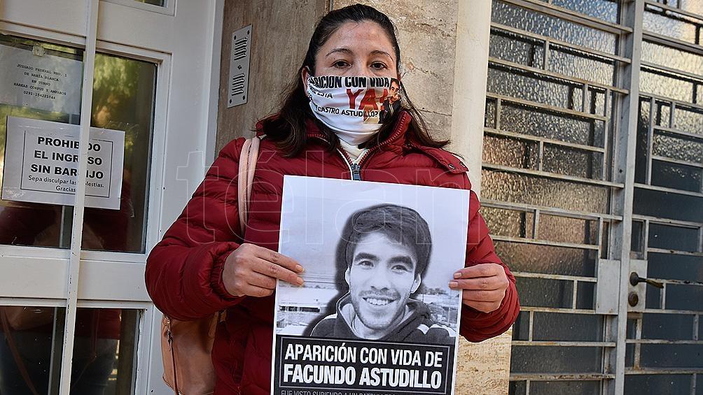 La madre de Facundo Astudillo Castro pidió el apartamiento de la jueza del caso