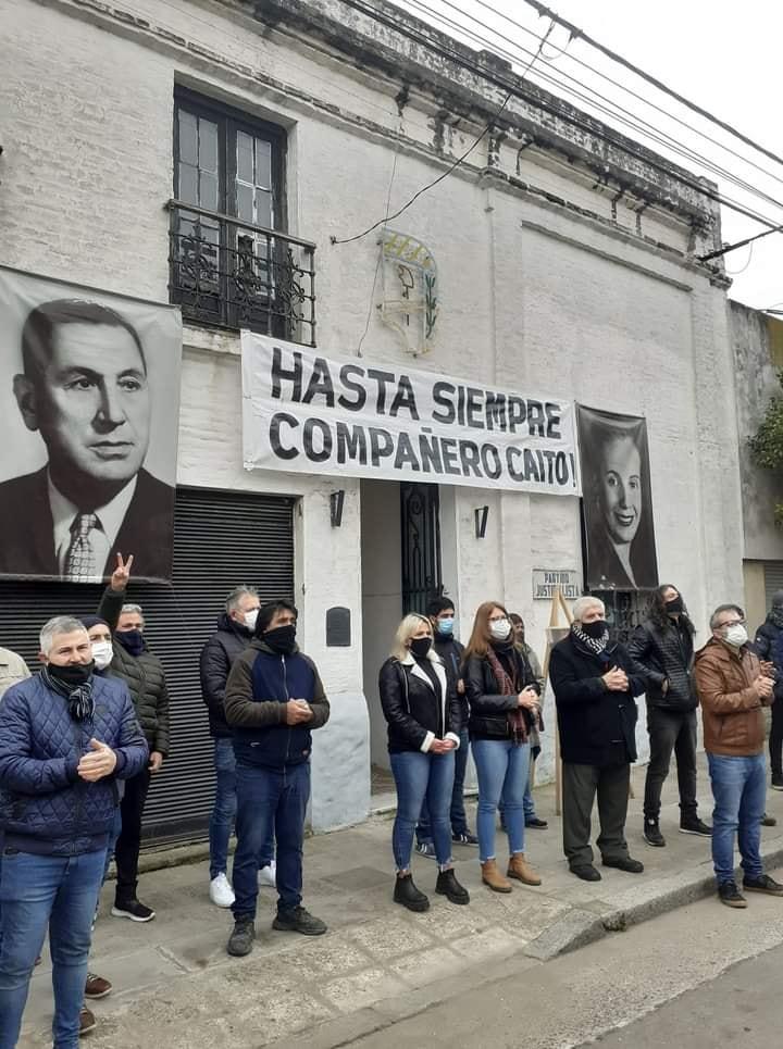 "El Peronismo de Azul despidió con dolor a Ricardo ""Caito"" Pené"