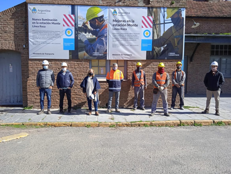 El lunes comienza la obra de renovación integral de la estación Monte